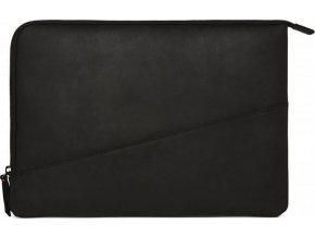 Decoded Waxed Slim Sleeve, black - MacBook Pro 13