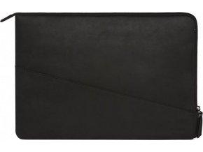 Decoded Waxed Slim Sleeve, black - MacBook Pro 15