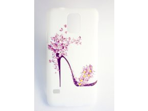 Kryt Crystals Shoes pro Samsung Galaxy S4