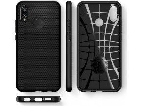 Spigen Liquid Air, black - Huawei P20 Lite