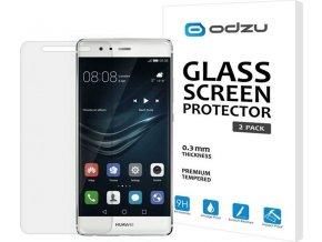Odzu Glass Screen Protector, 2pcs - Huawei P9
