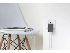 Native Union Smart Charger Dual USB, slate