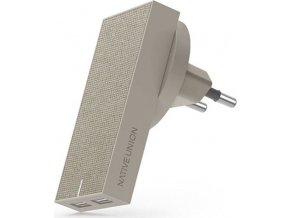Native Union Smart Charger Dual USB, taupe