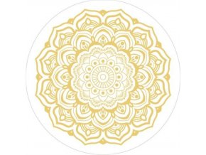 SpinPop golden mandala