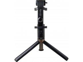Selfie tyč s Bluetooth ovladačem a stojánkem CELLY Propod, černá