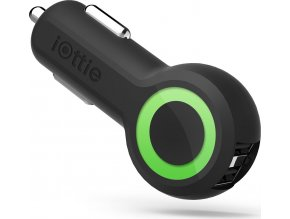 iOttie RapidVOLT MAX DualPortUSB Car Char. - Black - USB Adaptér do auta