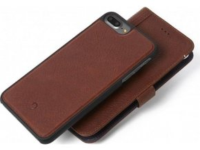 Decoded Leather 2in1 Wallet C.,brown-iPhone 8+/7+