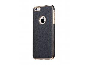 Kryt HOCO Glint Plating TPU & Leather pro Apple iPhone 6/6S, dark gray