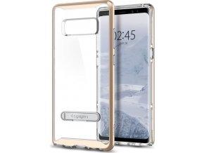 Spigen Crystal Hybrid, gold - Galaxy Note 8
