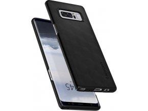 Spigen Thin Fit, matte black - Galaxy Note 8