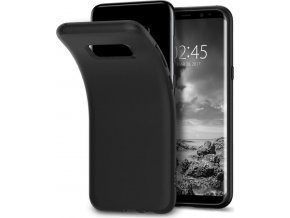 Spigen Liquid Crystal, matte black - Galaxy S8