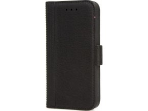 Decoded Leather Wallet Case, black - iPhone SE/5s