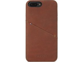 Decoded Leather Case, brown - iPhone 8+/7+/6s+