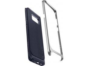 Spigen Neo Hybrid, silver arctic - Galaxy S8