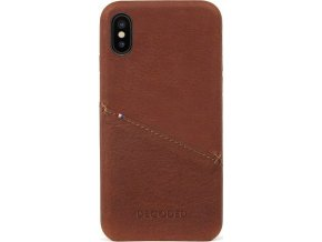 Decoded Leather Case, brown - iPhone X