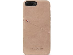 Decoded Leather Case, rose - iPhone 8+/7+/6s+