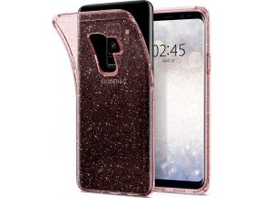 Spigen Liquid Crystal Glitter, rose - Galaxy S9+