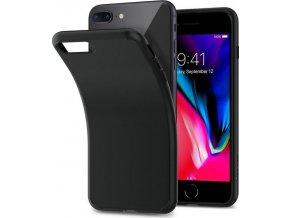 Spigen Liquid Crystal, matte black - iPhone 7+/8+