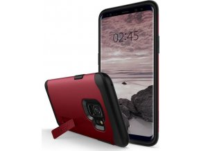 Spigen Slim Armor, merlot red - Galaxy S9