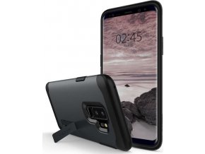 Spigen Slim Armor, metal slate - Galaxy S9+