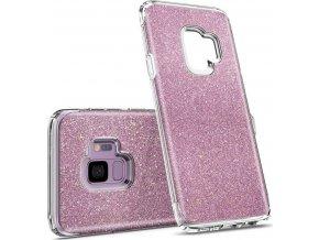 Spigen Slim Armor Crystal Glitter,rose - Galaxy S9