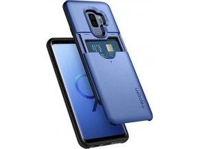 Spigen Slim Armor CS, coral blue - Galaxy S9