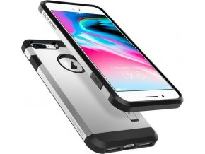 Spigen Tough Armor 2, silver - iPhone 7+/8+