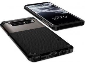 Spigen Hybrid Armor, gunmetal - Galaxy Note 8