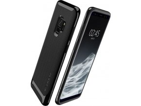 Spigen Neo Hybrid, shiny black - Galaxy S9