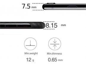 Pitaka Aramid case, black/grey - iPhone 8+/7+
