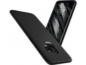 Spigen Liquid Air, matte black - Galaxy S9