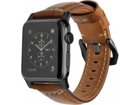 Nomad Horween Leather Strap Traditional, black