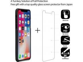 Pitaka Aramid case, black/grey plain - iPhone X