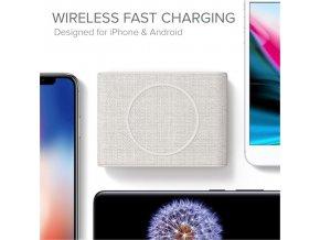 iOttie iON Wireless Pad Mini Ivory, tan