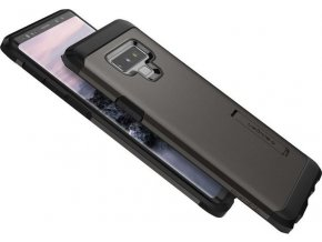 Spigen Tough Armor, gunmetal - Galaxy Note 9