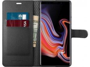 Spigen Wallet S, black - Galaxy Note 9