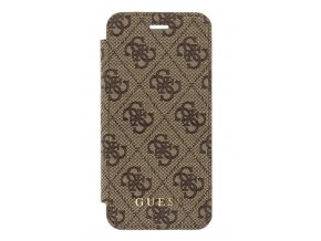 Pouzdro Guess 4G Book Brown, pro iPhone 7/8