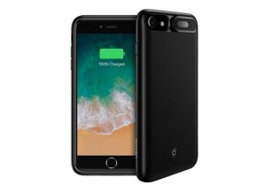 Power Case 4200mAh USAMS US-CD26, Black pro iPhone 6 Plus/7 Plus/8 Plus (EU Blister)