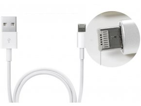 USB kabel Clearo 2v1 s konektorem Lightning + Micro USB pro Apple iPhone - 1m
