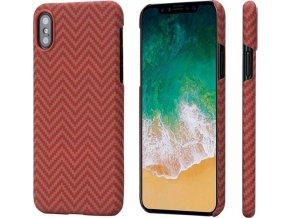 Pitaka Aramid case, red/orange - iPhone X