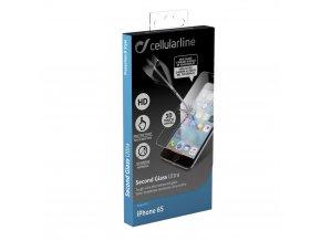 Ochranné tvrzené sklo CellularLine Glass pro Apple iPhone 6S s 3D touch podporou