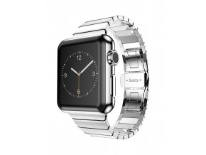 Kovový řemínek / pásek pro Apple Watch 42mm - HOCO Metal 2 Pointers