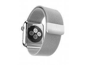 Kovový řemínek / pásek pro Apple Watch 42mm - HOCO Milanese Loop