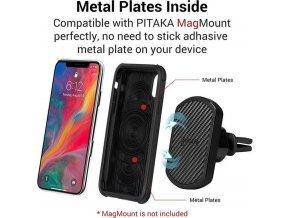 Pitaka MagCase Pro, black/grey - iPhone XS/X
