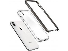 Spigen Neo Hybrid Crystal, gunmetal -iPhone XS Max