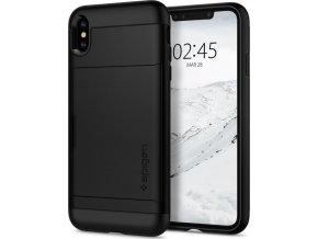 Spigen Slim Armor CS, black - iPhone XS Max