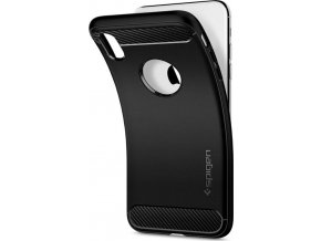 Spigen Rugged Armor, black - iPhone XS Max