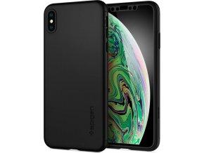 Spigen Thin Fit 360, black - iPhone XS Max