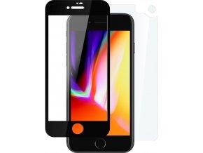 Set ochranných tvrzených skel FIXED pro přední a zadní stranu Apple iPhone 7/8, vesmírně šedý