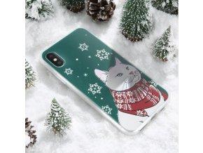 clearo kryt iphone 6 a 6s vanocni kocka